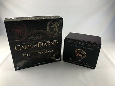 A Game of Thrones 5-Book Boxed Set by George R. R. Martin's Trivia Game