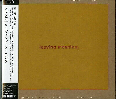 Swans-Leaving Meaning-Import 2 Digipak CD con Giappone Obi G22