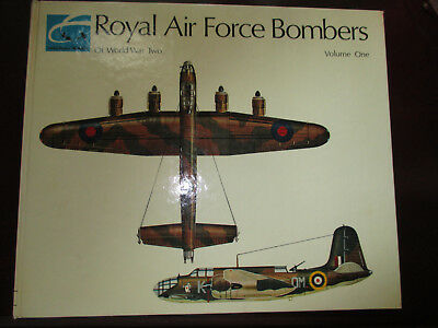 Royal Air Force Bombers Of World War Two Vol One Philip J R Moyes 1971