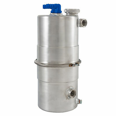 Mocal Dry Sump Tank – 7.6L Capacity, Single Scavenge, 2 x 1/2 BSP Breathers