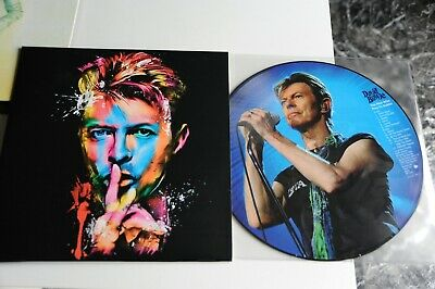 "David Bowie The Man Who Play In Dublin - Vinile - Lp 33 Giri - 12""  Picture Disc"