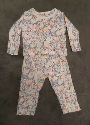Marks And Spencer M&S Pyjama Set Baby 9-12 Months Woodland Fox Owl