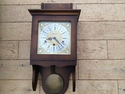 kieninger pendulum wall clock good cosmetic condition