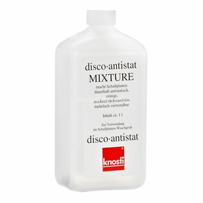 "Knosti Disco-Antistat Mixture 1 Liter Fluid For Lp Records ** New ** 7"" & 12"""