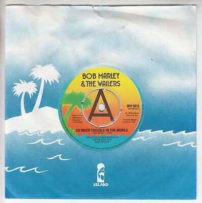 Bob Marley & The Wailers So Much Trouble In The World Rare Promo Ex Vinyl