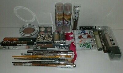 Hard Candy Eye Lip Face BROWN & GOLD Shades Makeup Lot of 24 Different Pieces
