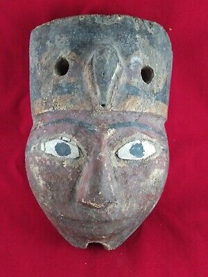 Ancient Egyptian Antiques Statue of Old Egyptian Mask