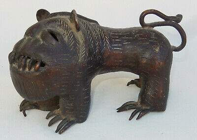 Antique Whimsical Bronze Mythical Beast * Where the Wild Things Are?