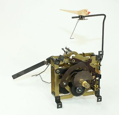 CUCKOO CLOCK MOVEMENT 25-K REGULA MOVEMENT 30 HOUR w/bird - SCHNEIDER - ZZ332