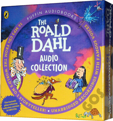 Roald Dahl Audio Book Collection 16 Children's Stories New MP3 CDs READ WARNING