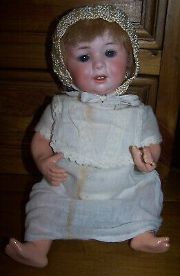 "Antique George Borgfeldt 327 Character Baby - 12"" Length"