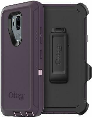 OtterBox Defender Series Protective Case & Holster for LG G7 ThinQ Purple Nebula