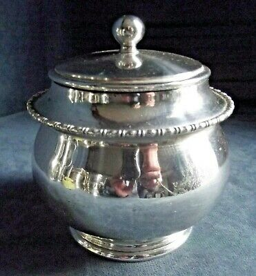 SUPERB Bulbous ~ SILVER Plated ~ Tea CADDY ~ c1900 by J. Green