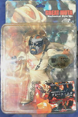 Great Muta Keiji Muto THE APEMAN PLATINUM Figure hao collection White (limited)