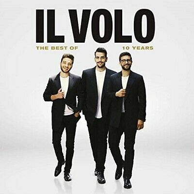 Il Volo 10 Years The Best Of Ten New CD + DVD