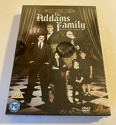 The Addams Family Volume One Dvd Box Set New Sealed