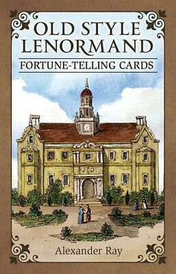 OLD STYLE LENORMAND Fortune Telling Playing Cards Oracle Tarot Card Set