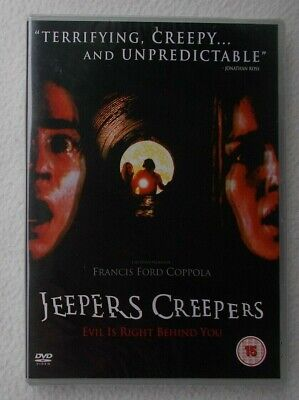 Jeepers Creepers (2002) ~ Gina Philips Justin Long ~ UK DVD ~ Brand New & Sealed