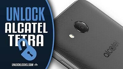 Alcatel Tetra 5041C  Remote Unlock Service Hard Locked Supported