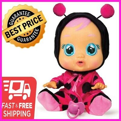 Cry Babies Lady The Ladybug Doll kid baby real toy new  Make your daughter happy