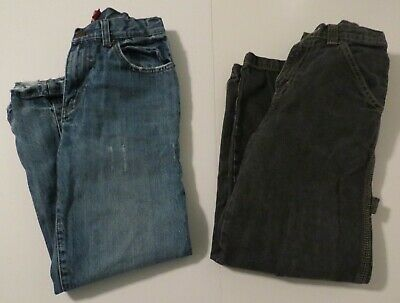 Old Navy Jeans 10 Arizona Jeans 10 Slim Both Adjustable Boys 2 Pair Black Blue