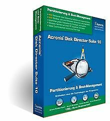 Acronis Disk Director Suite 10 von Acronis Germany GmbH | Software | Zustand gut