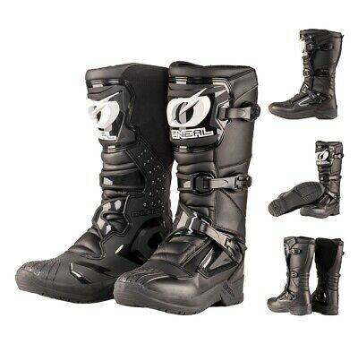Oneal RSX Stiefel Motocross Enduro Cross Quad MX Boots Offroad schwarz