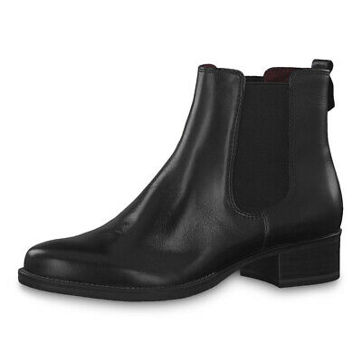 TAMARIS LADIES ANKLE Boots Shoes with Funnel Heel 25316
