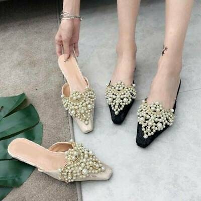 2Pcs/set Pearl Flower Shoe Clip Rhinestones Removable Pointed Shoes Decoration