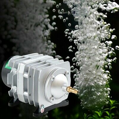 45L/min 25W Electromagnetic Aquarium Oxygen Pond Air Pump Aerator New