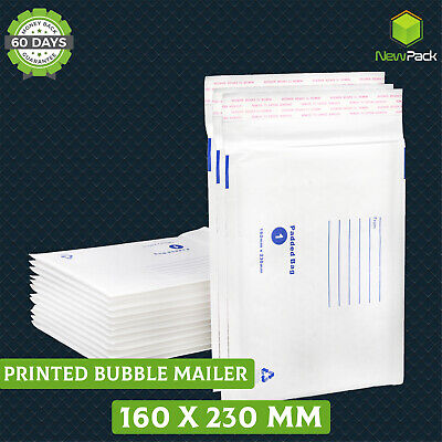 200x bubble mailer Shipping bag #01 160x230mm C5 padded bubble envelope A5 size