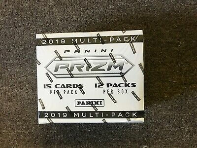 2019 Panini Prizm Football Multi-Pack Cello Box