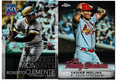 2019 Topps Chrome Update Inserts 150 Years & The Family Business Pick Your Card