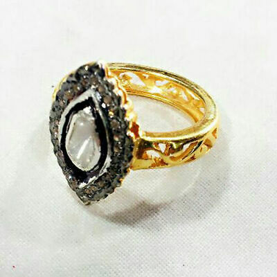 Lovely Victorian Style 1.03 ct Antique Rose Cut Diamond Ring Free Shipping