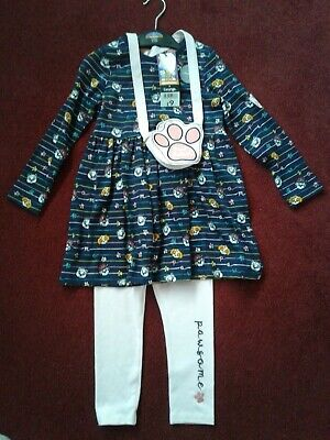 Girls 3 Piece Paw Patrol Outfit, Age 2-3 Years, New With Tags