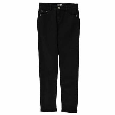 Firetrap Skinny Jeans Youngster Girls Pants Trousers Bottoms Zip