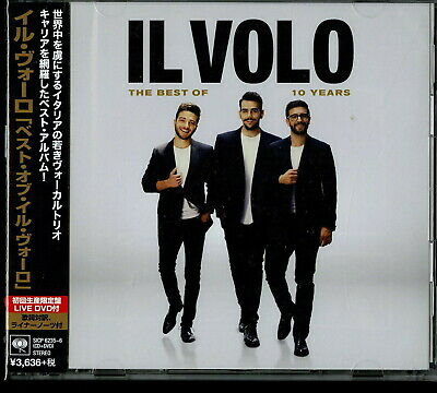 IL VOLO-10 YEARS - THE BEST OF IL VOLO-JAPAN CD+DVD BONUS TRACK Ltd/Ed I54