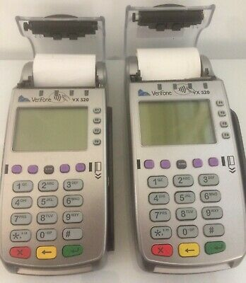 Verifone VX520 And VX520-G CreditCard Machines
