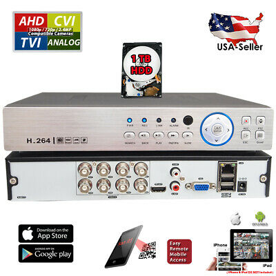 Swann SWHDR-88050 8-Channel 720p DVR Home Security System without Hard Drive