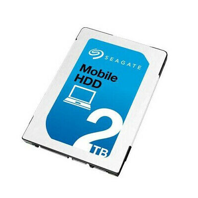 """2TB Seagate Mobile ST2000LM007 2.5"""" SATA 6Gbs Laptop PS4  Hard Drive 7mm OEM HDD"""