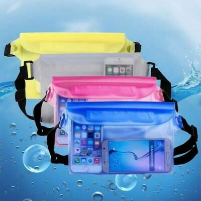 CO/_ AU/_ Sports Swimming Beach Waterproof Waist Bag Pouch Dry Bag Case Fanny Pack