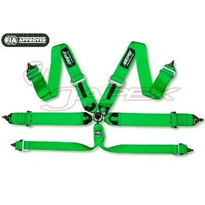 HPI 6-Point 3 Inch Racing Harness Green HPRH-6103GN