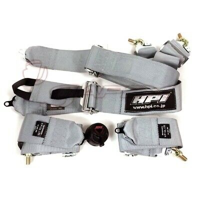 HPI 4-Point 3 Inch Racing Harness Right Side Harness Silver HPRH-4900SL-R