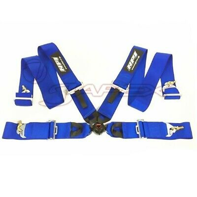 HPI 4-Point 3 Inch Racing Harness Right Side Harness Blue HPRH-4900BL-R