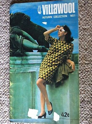 Vintage Villawool Knitting Pattern Book Autumn Collection No. 1