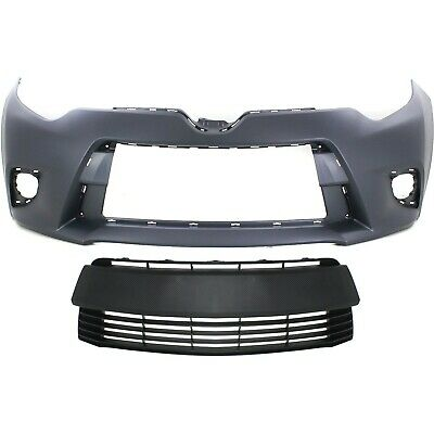 Front Bumper Grille For 2014-2016 Toyota Corolla 2015 T221FN
