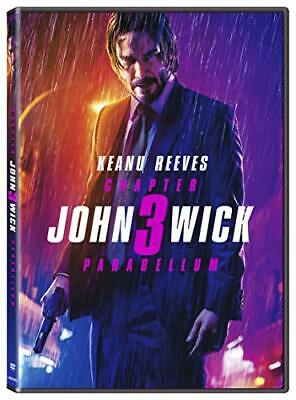 John Wick: Chapter 3 Parabellum by Keanu Reeves Action & Adventure assassin  DVD