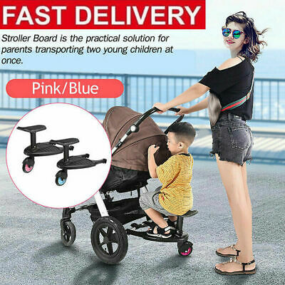 Buggy Board Stroller Step Board Stand Connector For Wikider ABC BUGABOO