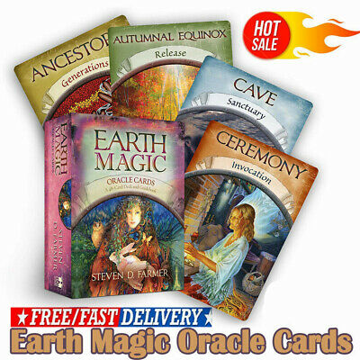 Magic Oracle Cards Earth Magic Read Fate Tarot 48-card Deck Set~50%OFF~BEST SALE