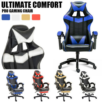 Office Chair Gaming Chair Computer Executive Chairs Racing Racer Seating